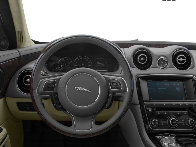 2017 Jaguar XJ Prices and Values Sedan 4D L V8 Supercharged driver's dashboard