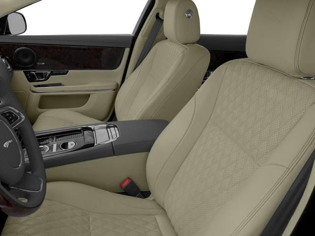 2017 Jaguar XJ Prices and Values Sedan 4D L V8 Supercharged front seat interior