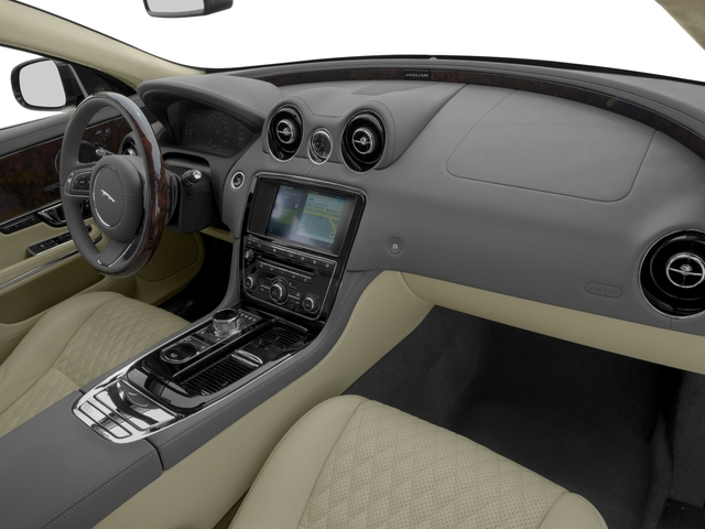 2017 Jaguar XJ Prices and Values Sedan 4D L V8 Supercharged passenger's dashboard