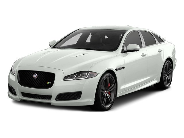 2017 Jaguar XJ Pictures XJ Sedan 4D XJR V8 Supercharged photos side front view
