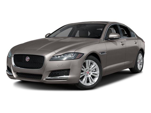 2017 Jaguar XF Pictures XF Sedan 4D 35t Premium V6 Supercharged photos side front view