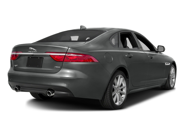 2017 Jaguar XF Prices and Values Sedan 4D 35t R-Sport V6 Supercharged side rear view