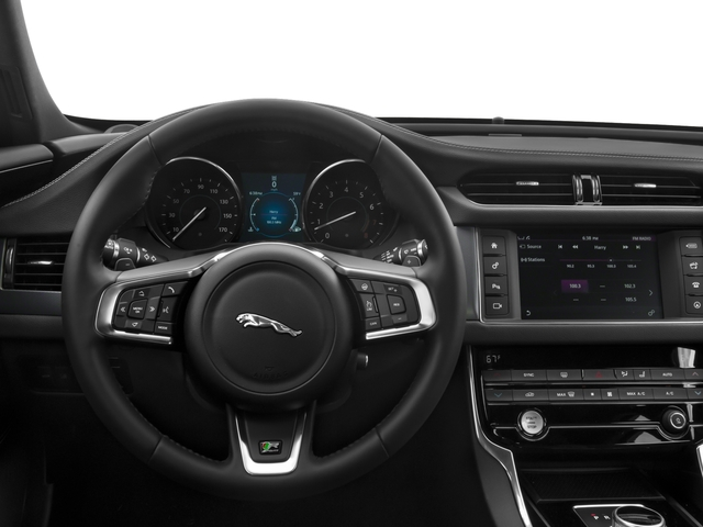 2017 Jaguar XF Prices and Values Sedan 4D 35t R-Sport V6 Supercharged driver's dashboard
