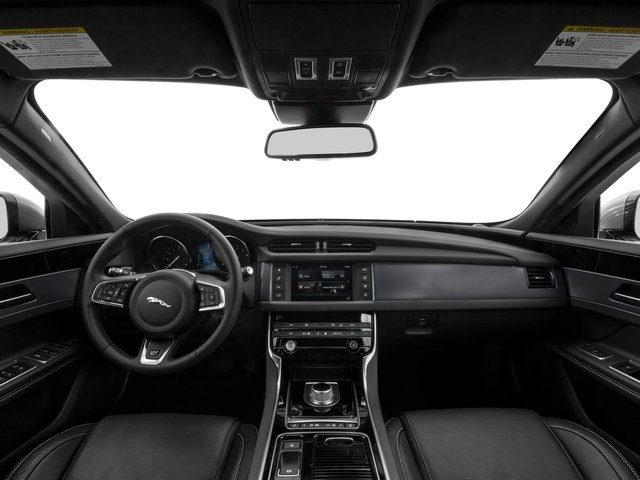 2017 Jaguar XF Pictures XF 35t R-Sport RWD photos full dashboard