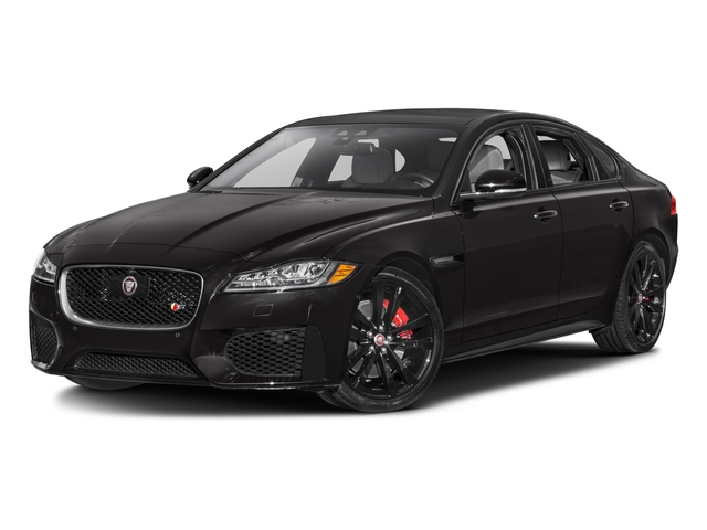 2017 Jaguar XF Base Price 35t RWD Pricing side front view