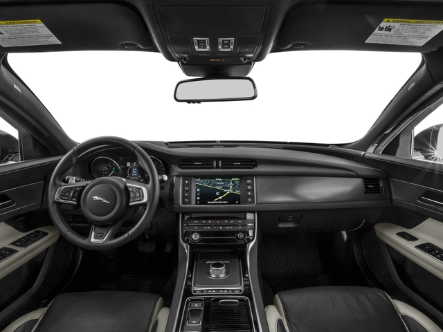2017 Jaguar XF Base Price 35t RWD Pricing full dashboard