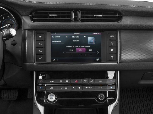 2017 Jaguar XF Base Price 35t RWD Pricing stereo system