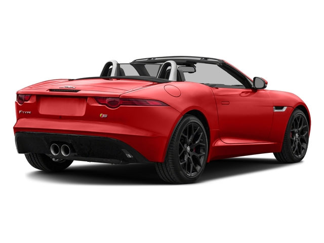 2017 Jaguar F-TYPE Prices and Values Convertible 2D S V6 side rear view