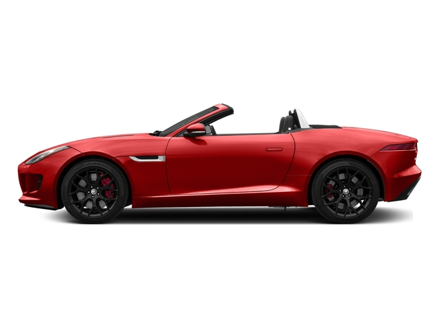 2017 Jaguar F-TYPE Pictures F-TYPE Convertible Manual S photos side view