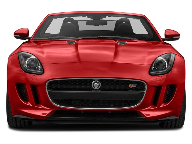 2017 Jaguar F-TYPE Pictures F-TYPE Convertible Manual S photos front view