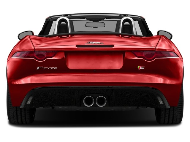 2017 Jaguar F-TYPE Prices and Values Convertible 2D S V6 rear view