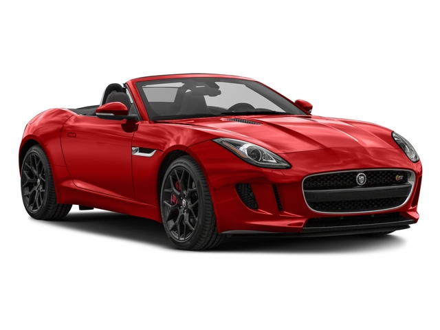 2017 Jaguar F-TYPE Prices and Values Convertible 2D S V6 side front view