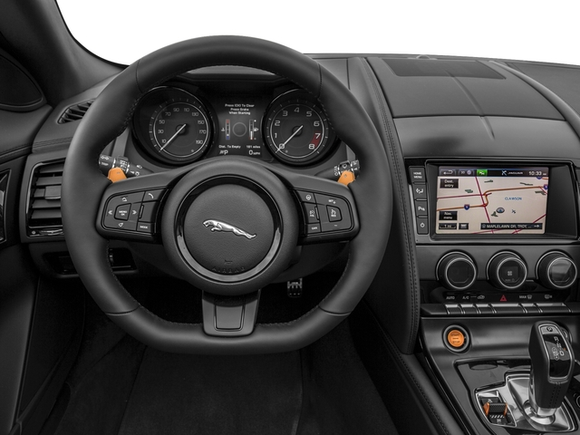 2017 Jaguar F-TYPE Prices and Values Convertible 2D S V6 driver's dashboard