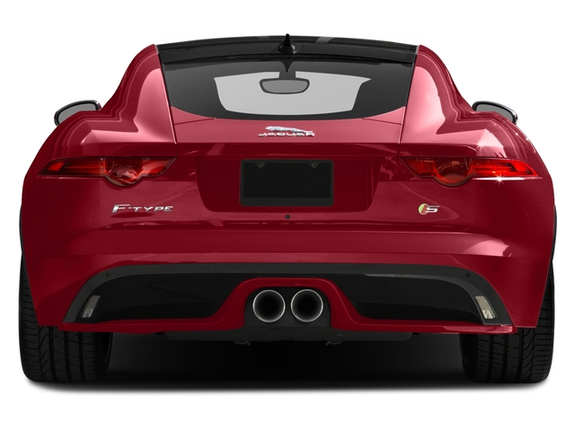 2017 Jaguar F-TYPE Prices and Values Coupe 2D S V6 rear view
