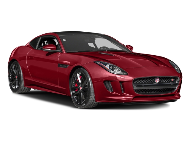2017 Jaguar F-TYPE Prices and Values Coupe 2D S V6 side front view