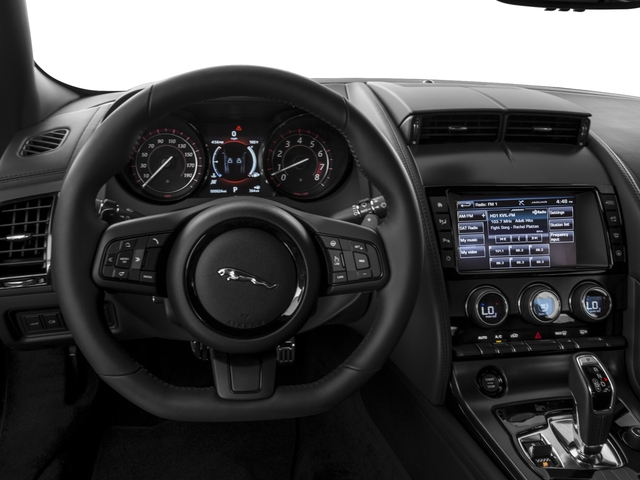 2017 Jaguar F-TYPE Prices and Values Coupe 2D S V6 driver's dashboard