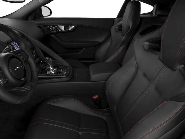 2017 Jaguar F-TYPE Prices and Values Coupe 2D S V6 front seat interior