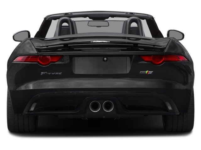 2017 Jaguar F-TYPE Prices and Values Convertible 2D S AWD V6 rear view