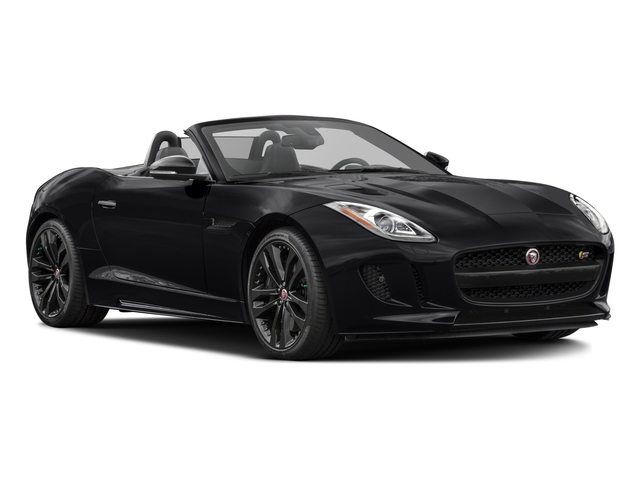 2017 Jaguar F-TYPE Prices and Values Convertible 2D S AWD V6 side front view