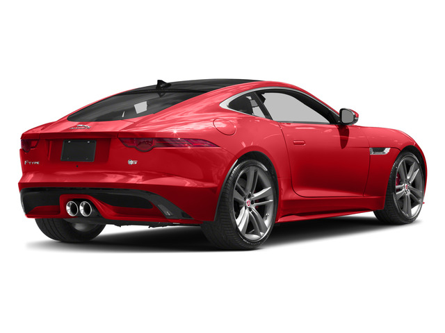 2017 Jaguar F-TYPE Prices and Values Coupe 2D S British Design Edit AWD side rear view