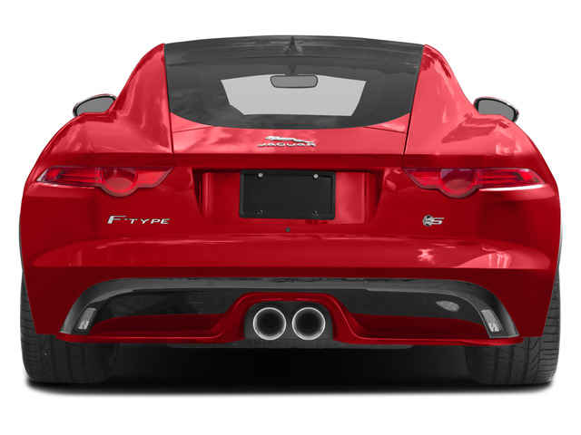 2017 Jaguar F-TYPE Prices and Values Coupe 2D S British Design Edit AWD rear view