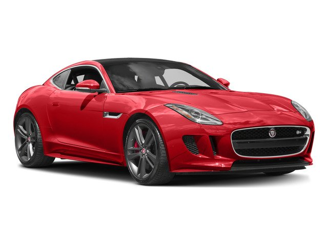2017 Jaguar F-TYPE Prices and Values Coupe 2D S British Design Edit AWD side front view