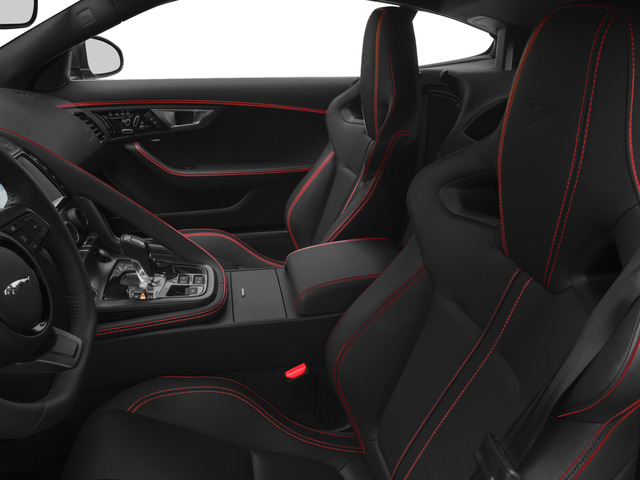 2017 Jaguar F-TYPE Prices and Values Coupe 2D S British Design Edit AWD front seat interior