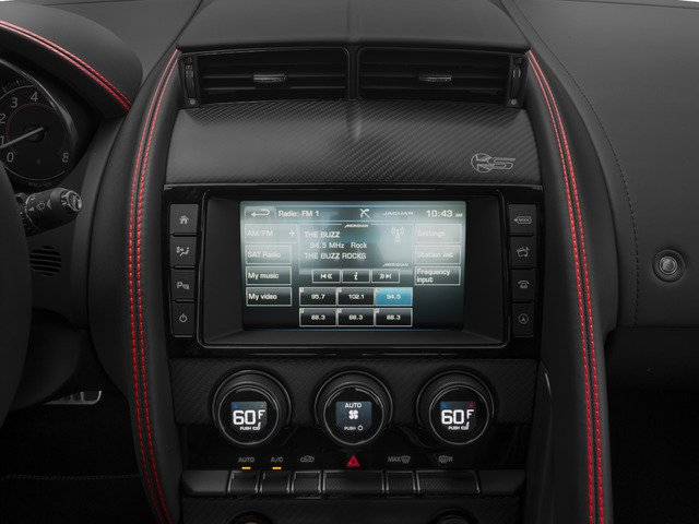 2017 Jaguar F-TYPE Prices and Values Coupe 2D S British Design Edit AWD stereo system