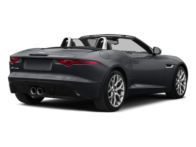 2017 Jaguar F-TYPE Prices and Values Convertible 2D Premium V6 side rear view