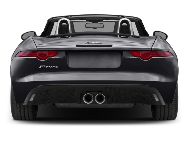 2017 Jaguar F-TYPE Prices and Values Convertible 2D Premium V6 rear view