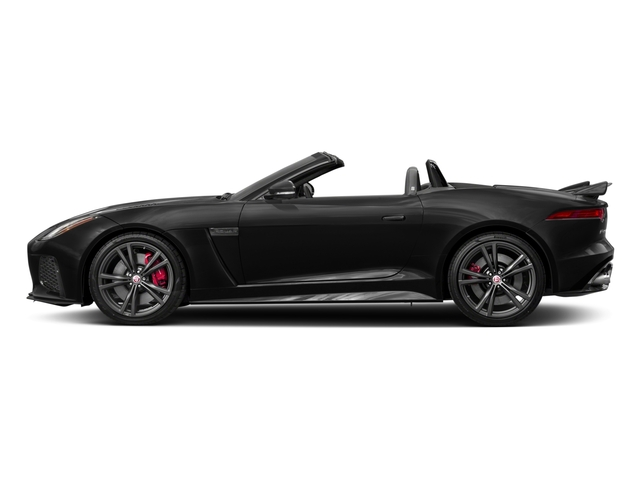 2017 Jaguar F-TYPE Prices and Values Convertible 2D SVR AWD V8 side view
