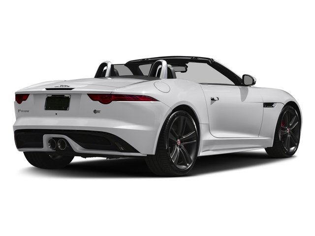 2017 Jaguar F-TYPE Pictures F-TYPE Convertible Auto S British Design Edition photos side rear view