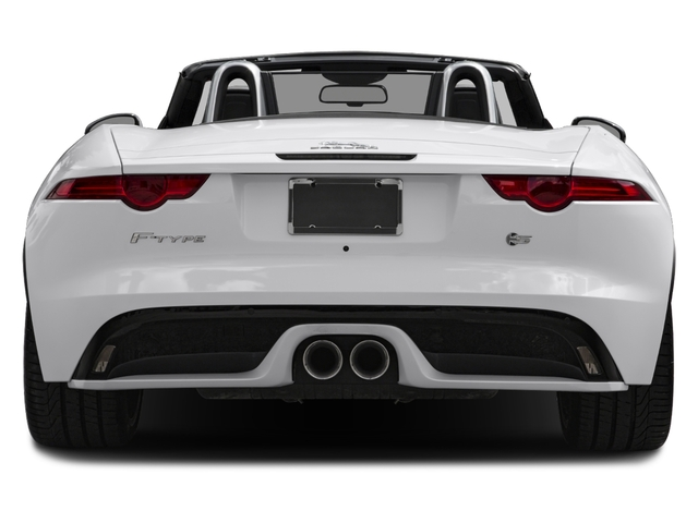2017 Jaguar F-TYPE Pictures F-TYPE Convertible Auto S British Design Edition photos rear view