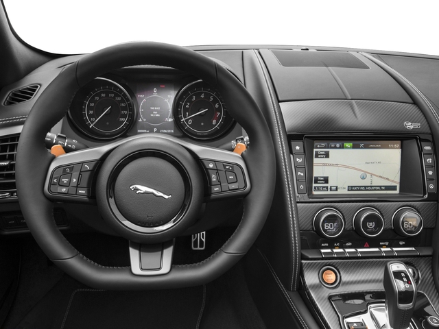 2017 Jaguar F-TYPE Pictures F-TYPE Convertible Auto S British Design Edition photos driver's dashboard