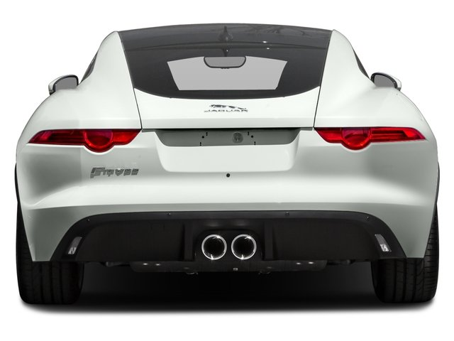 2017 Jaguar F-TYPE Prices and Values Coupe 2D Premium V6 rear view