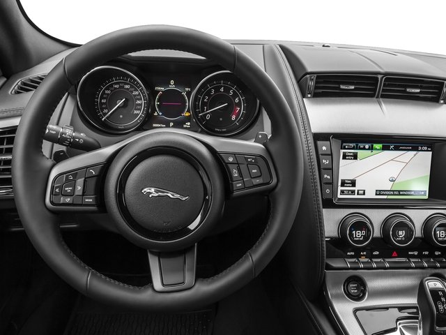 2017 Jaguar F-TYPE Prices and Values Coupe 2D Premium V6 driver's dashboard