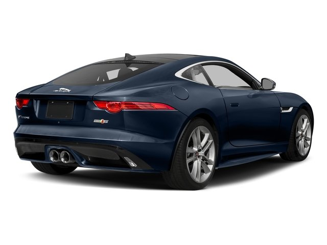 2017 Jaguar F-TYPE Prices and Values Coupe 2D S AWD V6 side rear view