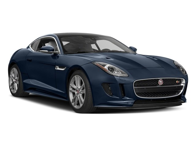 2017 Jaguar F-TYPE Prices and Values Coupe 2D S AWD V6 side front view