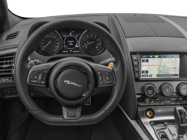 2017 Jaguar F-TYPE Base Price Coupe Auto S AWD Pricing driver's dashboard