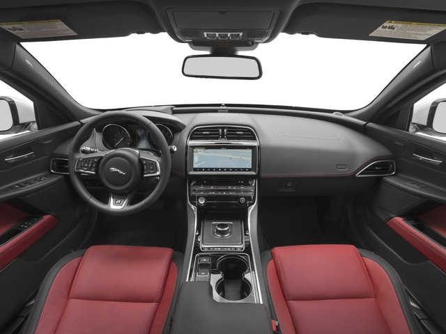 2017 Jaguar XE Pictures XE Sedan 4D 25t I4 Turbo photos full dashboard