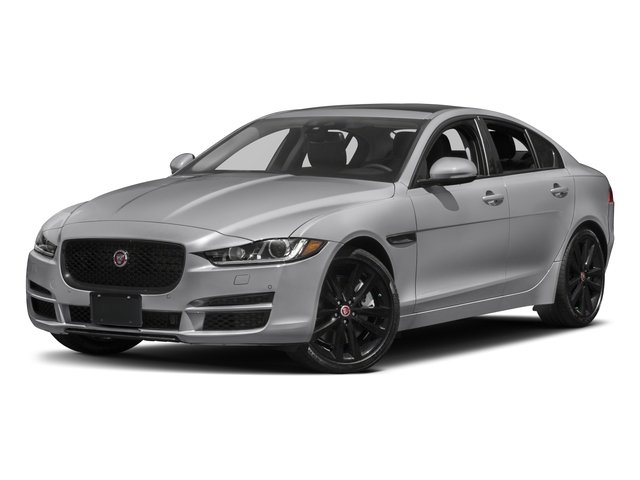 2017 Jaguar XE Pictures XE 35t Prestige AWD photos side front view