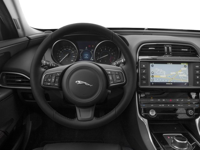 2017 Jaguar XE Base Price 35t Prestige RWD Pricing driver's dashboard