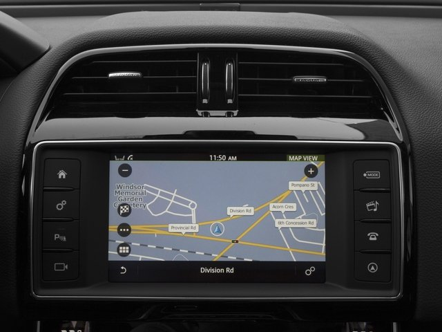 2017 Jaguar XE Pictures XE 35t Premium AWD photos navigation system
