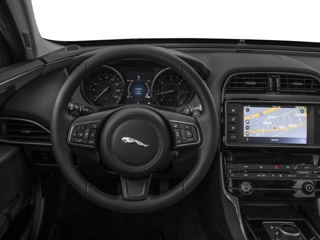 2017 Jaguar XE Prices and Values Sedan 4D 20d Premium AWD I4 T-Diesel driver's dashboard