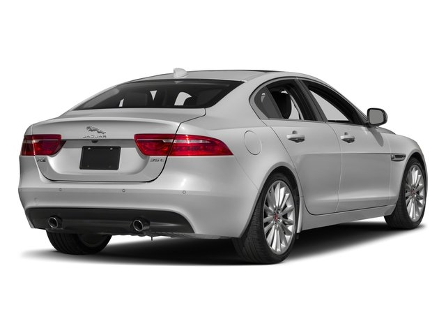2017 Jaguar XE Prices and Values Sedan 4D 35t First Edition V6 side rear view