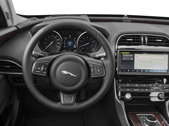 2017 Jaguar XE Prices and Values Sedan 4D 35t First Edition V6 driver's dashboard