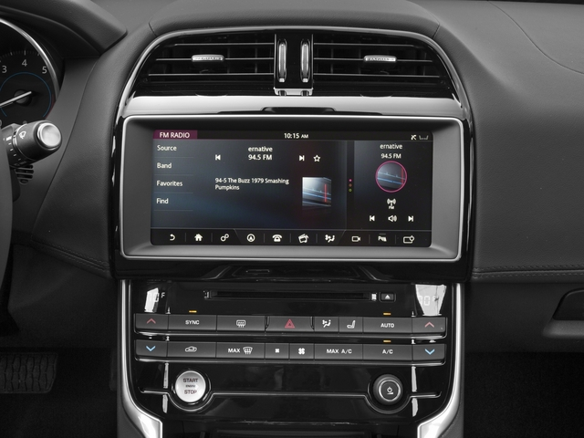 2017 Jaguar XE Prices and Values Sedan 4D 35t First Edition V6 stereo system