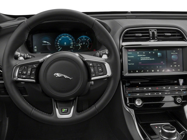 2017 Jaguar XE Base Price 20d R-Sport RWD Pricing driver's dashboard