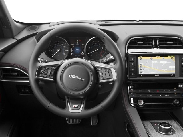 2017 Jaguar F-PACE Base Price First Edition AWD Pricing driver's dashboard