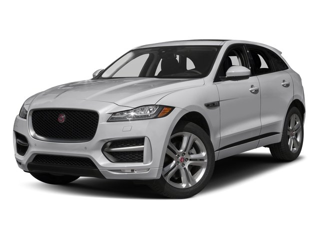 2017 Jaguar F-PACE Base Price 35t R-Sport AWD Pricing side front view